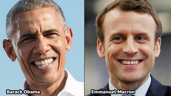 Obama Macron'u desteklediğini duyurdu