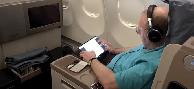 Thy, Abd Uçuşlarında Bilgisayar dağıtıyor!
