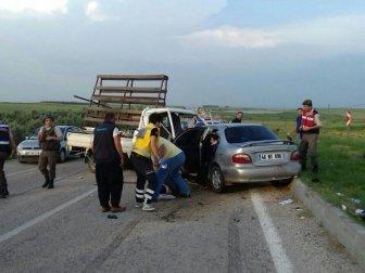 Adana, İmamoğlu'nda Trafik Kazası; 4 Yaralı