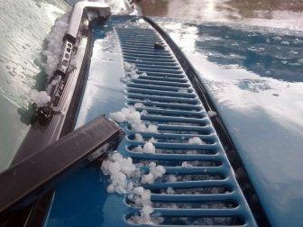 Çorlu'ya Şağanak Yağmur ve Şiddetli Dolu Yağışı Sürprizi