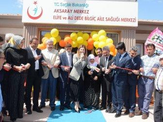 Aksaray'da 124'üncü Aile Sağlığı Merkezi