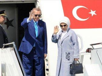 Türkiye Cumhuriyeti Cumhurbaşkanı Erdoğan'dan Kuveyt ziyareti