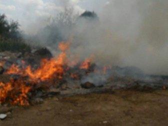 Edremit'te Hıdırellez Bitti Çöpleri Yandı