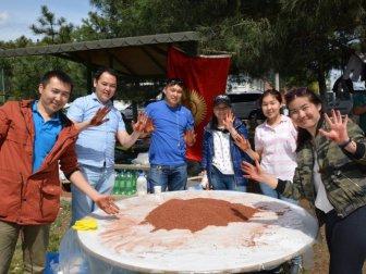 Bursa, İznik'te Kırgız Şenliği