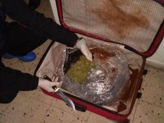 Yolcu Otobüsünde 6 Kilogram Esrar Ele Geçirildi