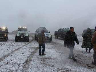 Malatya'da Mayıs Ortasında Kar Yağışı