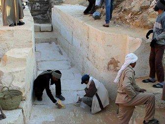 Mısır, Luksor'da 4 Bin Yıllık Mezar Bahçesi Bulundu