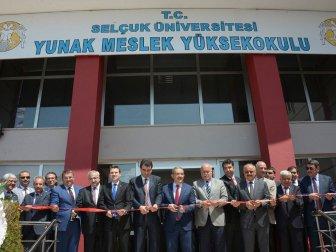 Selçuk Üniversitesi (SÜ) Yunak MYO Açıldı
