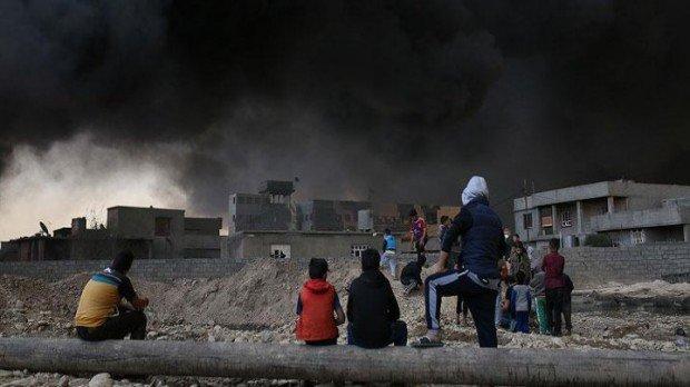 BM uyardı! Musul'da Siviller tehit altında