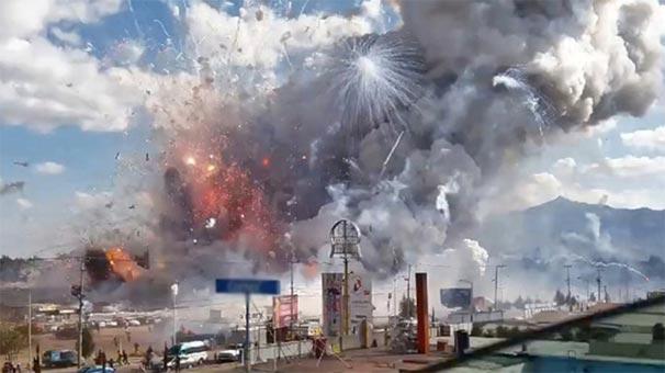 Meksika'da Patlama: 14 Ölü, 22 Yaralı var