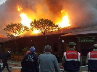 Zonguldak, Uzungöl'deki Yangın Kontrol Altına Alındı