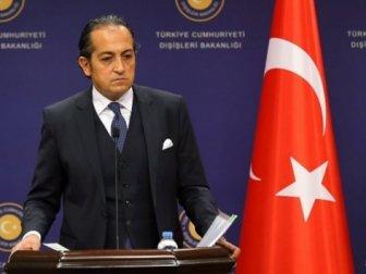 Dışişleri Bakanlığı Sözcüsü Hüseyin Müftüoğlu'ndan Rum Gazetesine Yalanlama