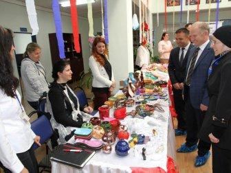 ZİCEV Tekirdağ'da Özel Öğrencilerin Sergisi Büyüledi