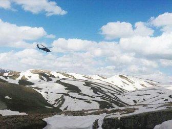 Şırnak, İncebel Dağları'nda Terör Operasyonu Sürüyor