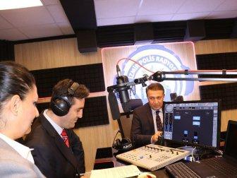 İzmir, Karşıyaka'da Polis Radyosu Açıldı