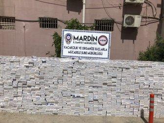Mardin'de 4 Ayrı Araçtan 76 Bin 800 Paket Kaçak Sigara Ele Geçirildi