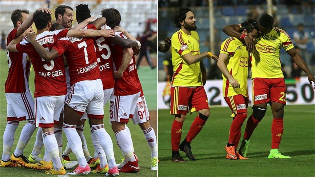 Sivasspor Ve Evkur Yeni Malatyaspor'un Lig zaferi