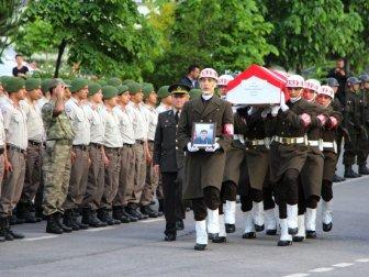 Trabzon Şehidi Uzman Onbaşı Osmangazi Çetingöz İçin Tören