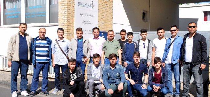 Kastamonulu Öğrencilerden Almanya ziyareti