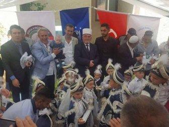Bursa Büyükşehir Belediyesi ve Kırçovalılar Derneği İş Birliğiyle Makedonya'da Sünnet Coşkusu