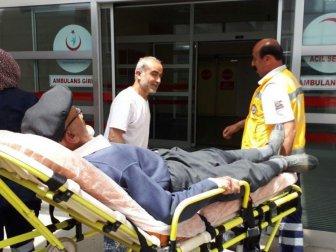 Adıyaman'da Bisikletin Çarptığı Yaşlı Adam Yaralandı
