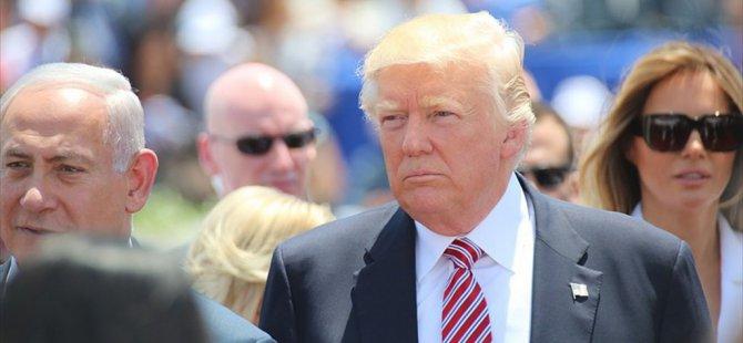 Trump: İsrail'i seviyor ve saygı duyuyoruz