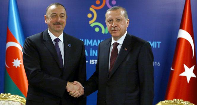 Aliyev'den Erdoğan'a kutlama mesajı