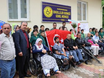 Kahramanmaraş'ta Atık Yağlar Tekerlekli Sandalyeye Dönüştü