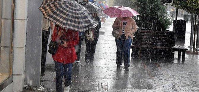 Meteorolojiden 5 İl için için şiddetli yağış uyarısı!