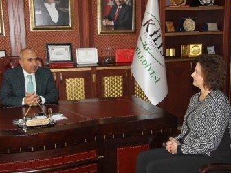 AB Türkiye Delegasyonu İşbirliği Bölüm Başkanı Gatti Kilis'te