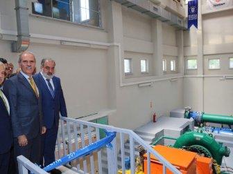 BUSKİ'nin İlk Hidroelektrik Santrali Hizmete Açıldı