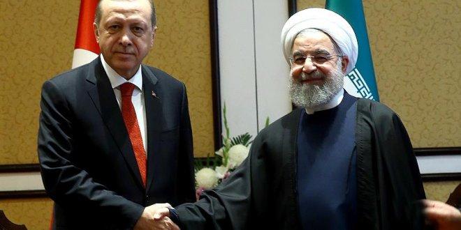 Erdoğan Ruhani'yi Tebrik Etti