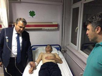 Başkan Dr. Çerçi'den Tedavi Gören Askerlere Ziyaret