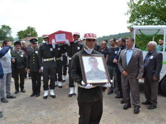 Trafik Kazasında Ölen Asker Salih Kan Son Yolculuğuna Uğurlandı