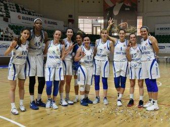 Bornova Becker Spor 63-48 Çankaya Üniversitesi