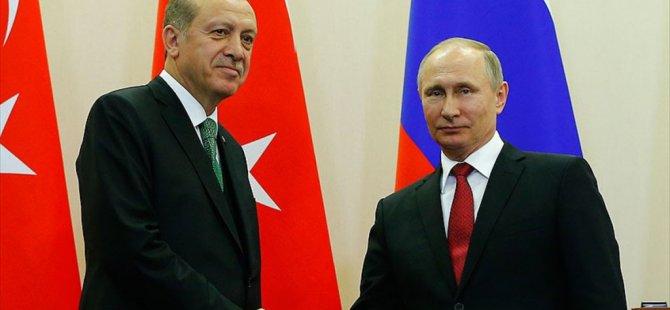 Erdoğan ve Putin'den Flaş telefon görüşmesi