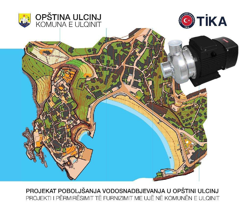 Karadağ'a Temiz su konusunda Tika desteği!