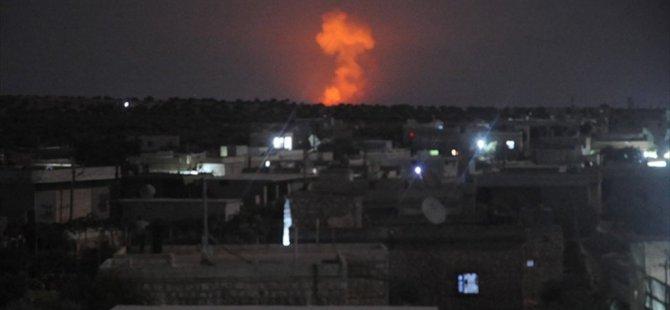 Rusya'dan Suriye harekatı! Hedefler vuruldu