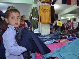 Şanlıurfa, Siverek'te 200 Çocuğa Elbise Yardımında Bulunuldu