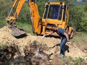 Tunceli'de Kazada Telef Olan 50 Küçükbaş Hayvan Gömüldü