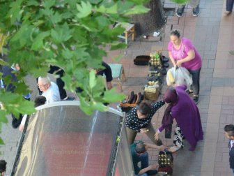 Zonguldak'ta Sokak Ortasında Saç Saça Kavga