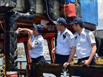 Antalya, Alanya'da 5 Gezi Teknesi Mühürlendi