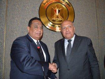Sudan Dışişleri Bakanı İbrahim el Gandur Kahire'de