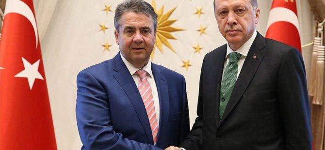 Erdoğan ve Almanya Dışişleri Bakanının görüşmesi Sona erdi!