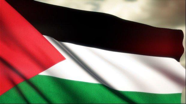 Filistin Bayrakları Berlin'de Dalgalandı