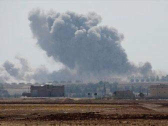 DEAŞ Karşıtı Koalisyon Güçleri, Esad Yanlısı Kuvvetleri Vurdu