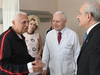 Yılmaz Polat'a Kemal Kılıçdaroğlu'ndan ziyaret