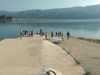 Karaman, Ermenek'te Baraja Giren 14 Yaşındaki Çocuk Kayboldu (Hasan Çoban)