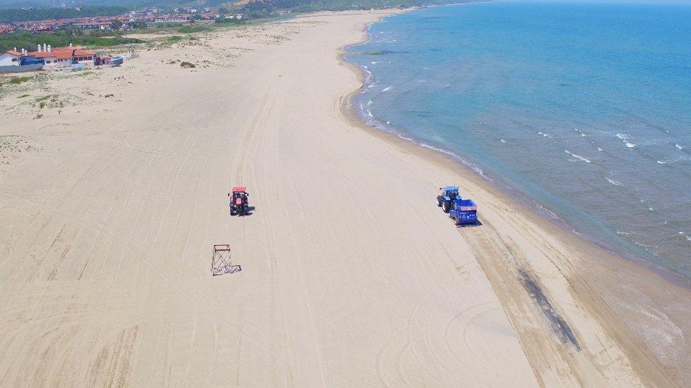 İstanbul'da Plajlar Sezona Hazır