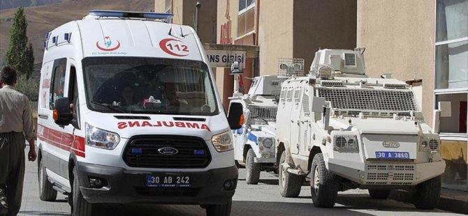 Hakkari Yüksekova'da Terör Saldırısı: 17 Asker Yaralı